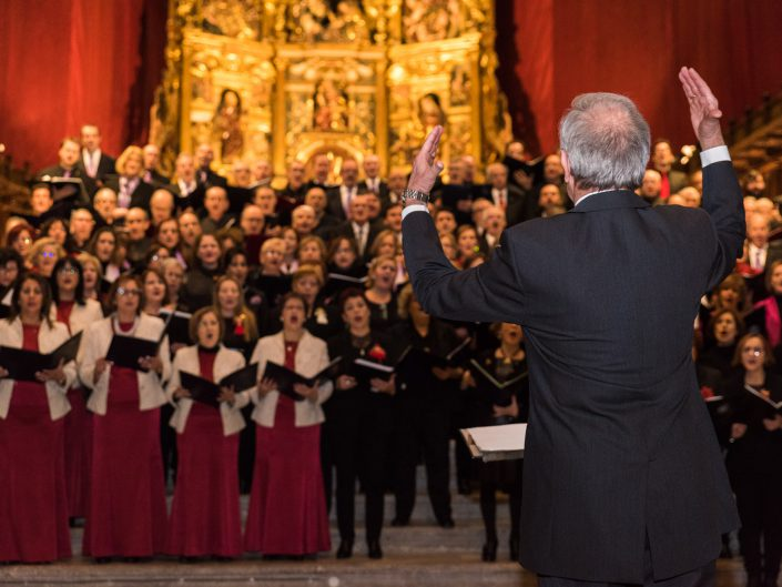 Reportaje del XXVII Encuentro de Corales, en la S.I. Catedral Metropolitana de Valladolid