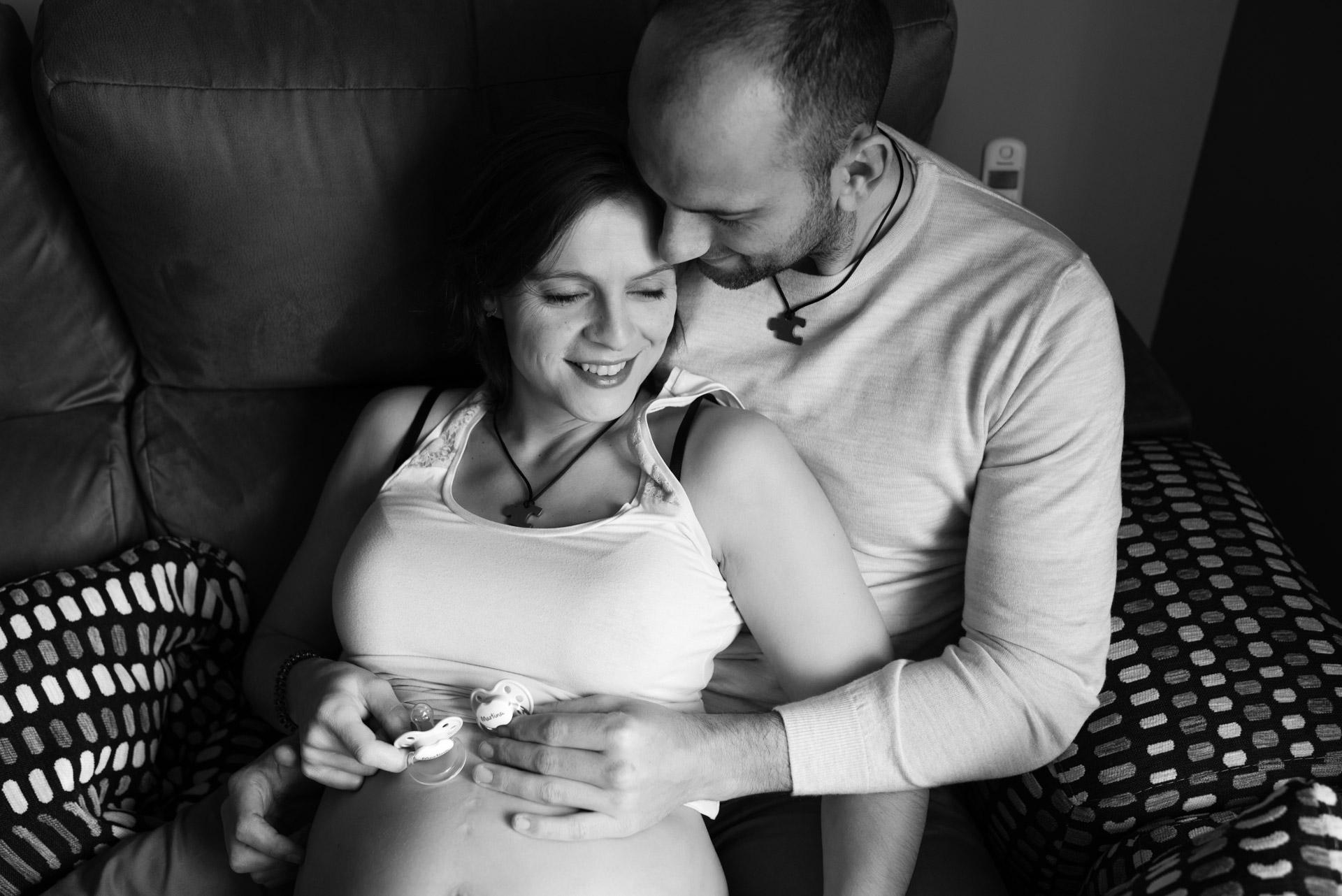 reportaje de embarazo en laguna de duero valladolid