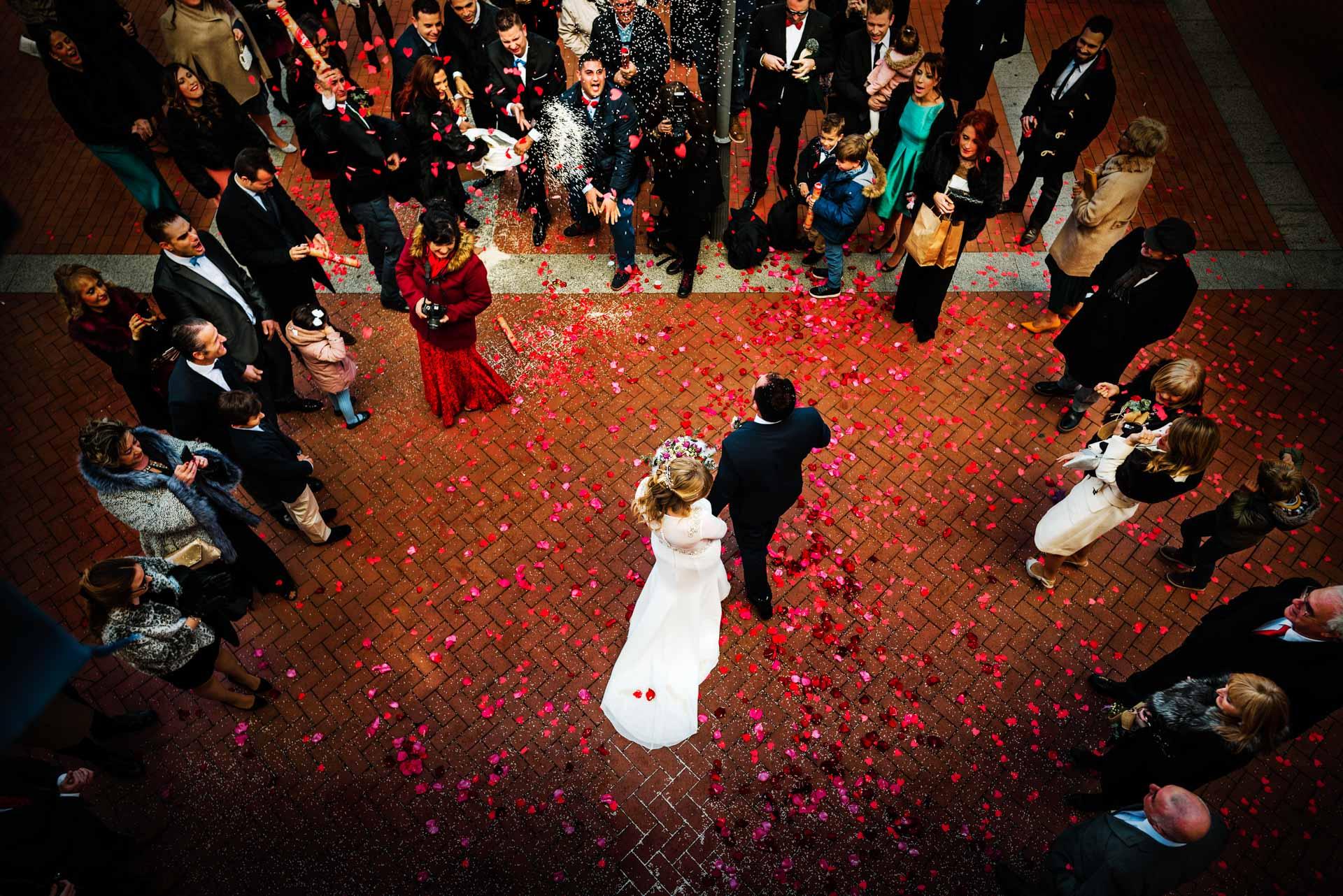 Reportaje de boda en el Jardín de la Abadía Valladolid