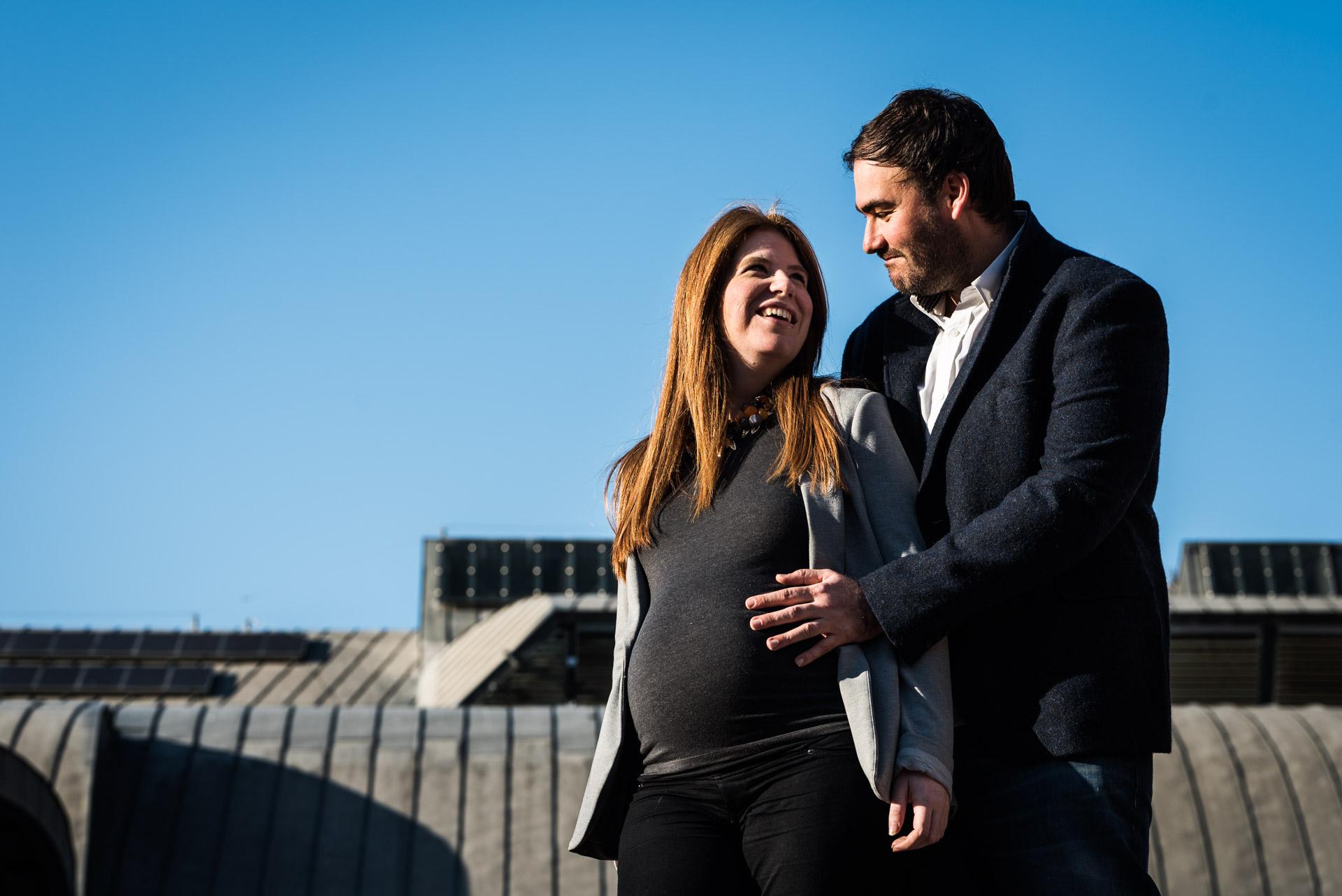Reportaje embarazo Barcelona