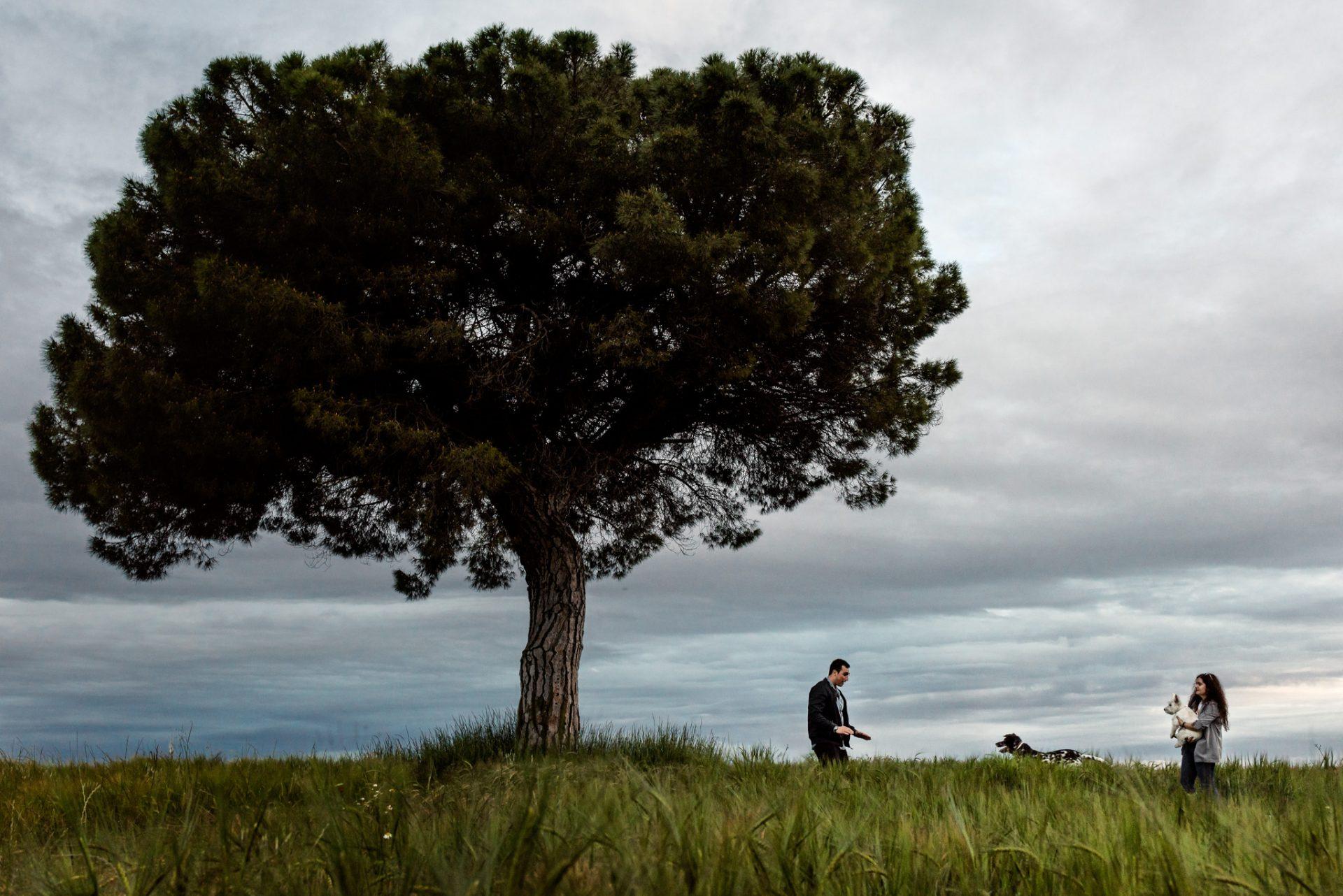 Reportaje fotográfico de preboda original y divertida en Valladolid.